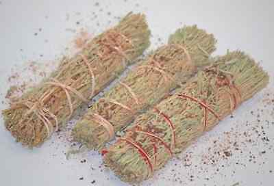 "Dragons Sage Smudge 4"" to 5"" Stick House Cleansing Negativity Removal WHOLESALE"