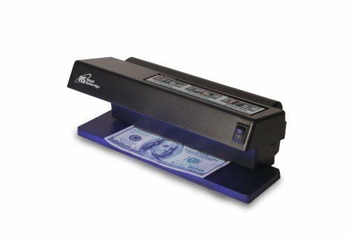 Royal Sovereign RCD1000 Rcd1000 Counterfeit Detector Perp Compact Automatic Uv