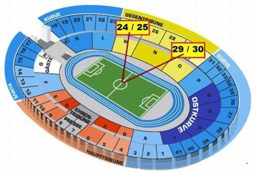 olympiastadion m nchen tickets ebay. Black Bedroom Furniture Sets. Home Design Ideas