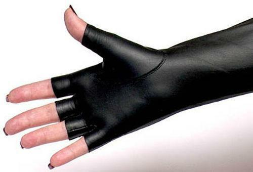 Fingerless Leather Gloves Ebay