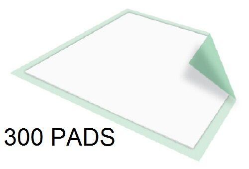 300 30x30 Dog Puppy Training Wee Wee Pee Pads Underpads Stay Dry McKesson