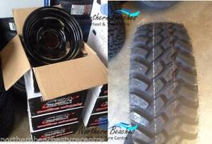 "4 X 15"" STEEL WHEELS & 31 10.5 15 LT GRIPMAX MUD TYRES SUIT HILUX Brookvale Manly Area Preview"