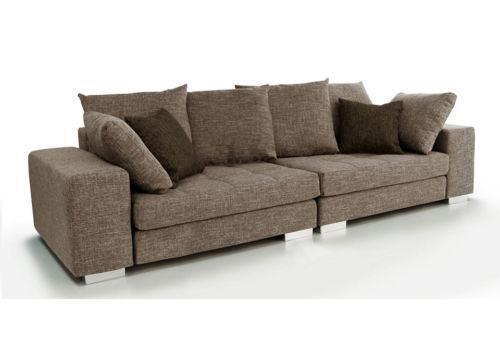 mega couch sofas sessel ebay. Black Bedroom Furniture Sets. Home Design Ideas