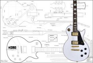 guitar plans ebay. Black Bedroom Furniture Sets. Home Design Ideas