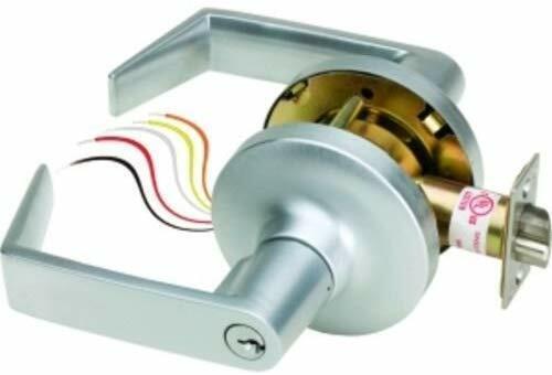 SDC Z7252 SDC Failsecure Electrified Cylindrical Lockset, Locked Outside
