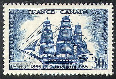 France 1955 Ships/Boats/Nautical/Sailing/Sail/Transport 1v (n24226)