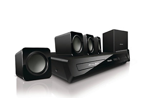 Phillips 5.1 Surround Sound System with Blu-Ray Player