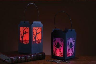 Laternen Spinne Eule Kostüm Dekoration für Drinnen Tisch (Tischdekoration Für Halloween)