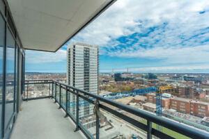 Gorgeous 2 BR Suite With Beautiful Lake & City View for Rent
