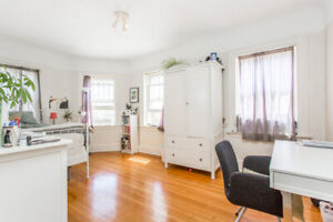 $1195  LARGE NEWLY FURNISHED ROOM IN 3 BDRM. APT.