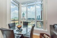 Stunning 2 Bedroom Corner Unit In The Heart Of Mississauga!