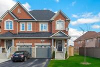 HOUSE FOR SALE IN BRAMPTON!! NEWER SEMI IN CREDIT VALLEY!!