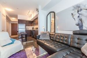 Stunning 1 Bedroom plus Den with Lake Views