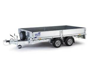 NEW Ifor Williams LM127 flatbed trailer inc ramps/dropsides - UK built Kenwick Gosnells Area Preview