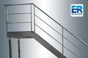 Treppe mit Podest Aussentreppe Nottreppe Feuerschutz Treppe Bauhöhe 2990mm