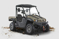 500cc UTV 4X4 BRAND NEW NOW ONLY $7500 1-800-709-6249
