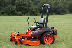 kubota zero turn and lawn care business for sale