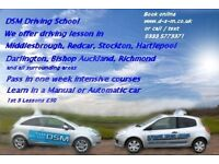 Driving lessons Manual or Automatic