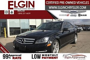 2012 Mercedes-Benz C-Class C-300***Pano,Navi,B-up Cam,Leather