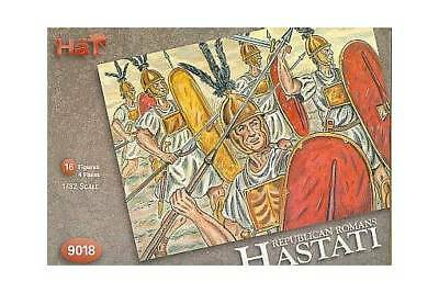 HAT 9018 1/32 ROMAN INFANTRY HASTATI 16 Plastic Toy Soldier Figures FREE SHIP](Toy Soldier Hat)