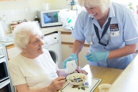 Registered Care worker available for home help and patient care