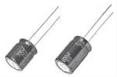 50 Aluminum Electrolytic Capacitors - Leaded 330uf 25v Elect Fm Radial