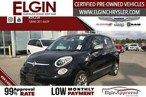 2015 FIAT 500L Lounge***Leather,Pano,Navi,B-up Cam***