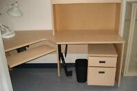 meuble d'ordinateur, meuble de bureau