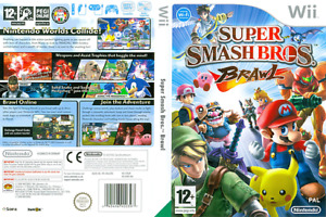 SUPER SMASH BROS BRAWL & MARIO AND SONIC AT OLYMPIC GAMES WII