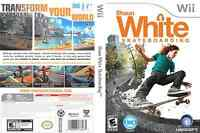 Shaun White Snowboarding and Skateboarding Wii games combo