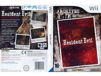 Nintendo wii resident evil brand new sealed