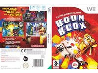 NINTENDO WII BOOM BLOX JENGA STYLE PUZZLE GAME COMPLETE