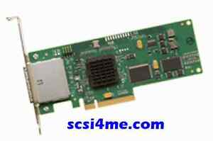NEW-LSI-Logic-SAS3801E-PCIe-3GB-s-miniSAS-8-Port-Adapter-2x-SFF-8088-Connectors