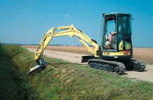FAE hydraulic driven mulchers for excavators and skid steers
