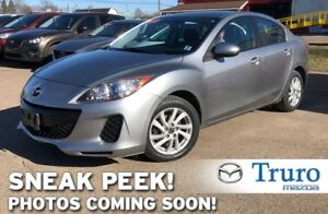 2013 Mazda Mazda3 MANUAL! GS! HEATED SEATS! ONE OWNER! NEW TIRES