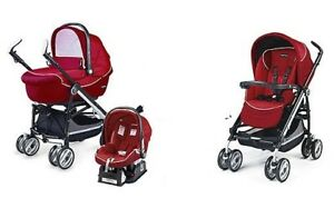 Italian Peg- Perego Switch stroller with bassinet +car seat 4-35