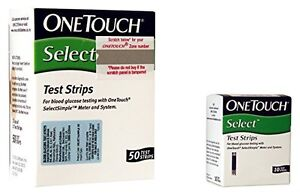 60-Test-Strips-for-One-Touch-Select-Simple-Glucometer-New-MRP-1095