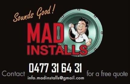 MAD Installs - Professional Car Audio Installations O477.31.64.31 Smithfield Parramatta Area Preview