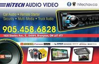CAR AUDIO: STEREO'S, NAVIGATION, IN CAR ENTERTAINMENT