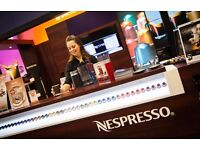 Retail Sales Coffee Machine Demonstration Part-Time £10 p/h - Cambridge