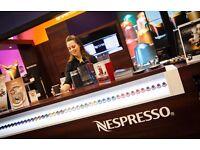 Customer Service Sales Assistant - Coffee Machine Demo £10 p/h