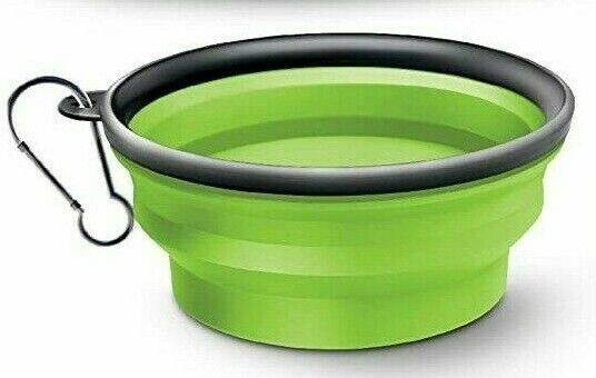 Collapsible Silicone Dog Bowl,Expandable Pet Food & Water Dishes
