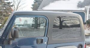Black Jeep TJ Hard Top Off 2006. Will fit ALL years