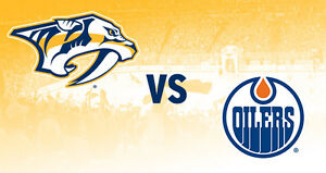 Oilers Vs.Predators JAN 20 Sec 204 row 7 Quick Sale!