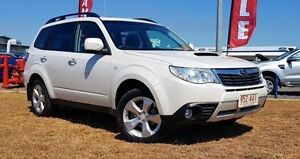 2009 Subaru Forester S3 MY10 XT AWD Premium White 4 Speed Sports Automatic Wagon Berrimah Darwin City Preview