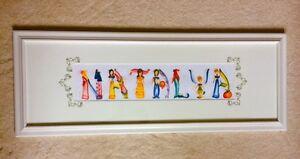 """Natalya"" Custom Painting from Disney Land"
