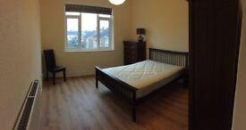 One very spacious double room in clean, calm, friendly house with weekly cleaner included