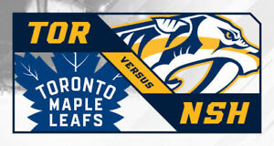 Toronto Maple Leafs vs. Nashville Predators Jan 7 2019 Row 9
