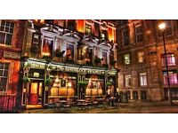 Full time bar staff wanted for upbeat central London pub.