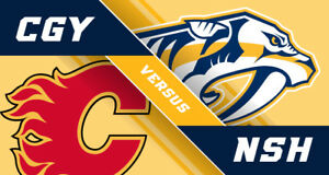 Calgary Flames VS Nashville Predators @ Calgary DEC 16, 2017